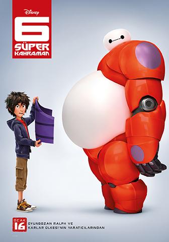 6 Süper Kahraman - Big Hero 6