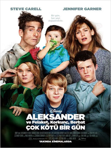 Alexander ve Felaket, Korkunç, Berbat, Çok Kötü Bir Gün