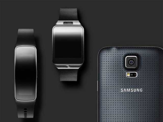 Galaxy S5 - Gear 2 ve Gear Fit