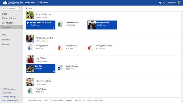 OneDrive İle Yedekleyin ve Paylaşın