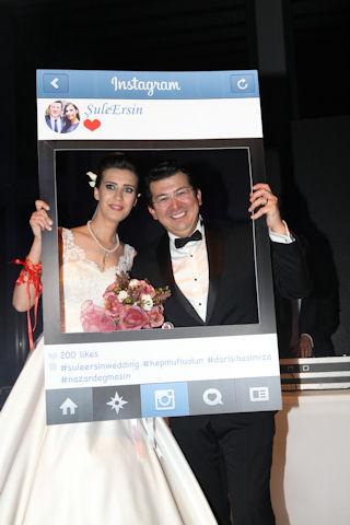 sule ersin suzer dugun 3 320x480 - Türk Basını Görkemli Düğünde Buluştu