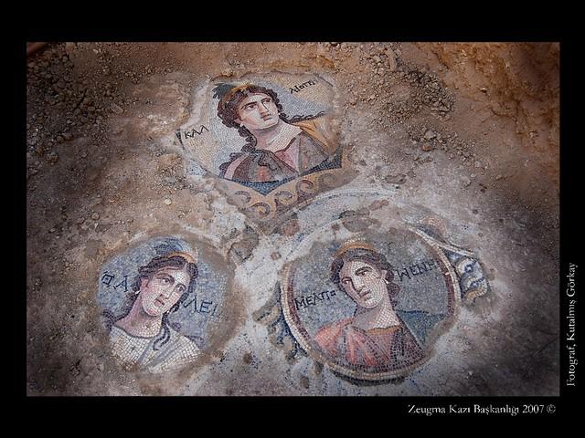 Zeugma'nın Yeni Mozaikleri Gün Yüzüne Çıkıyor