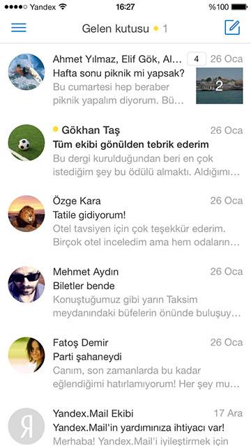 yandex mail 2 360x640 - Yandex Mail Yenilendi
