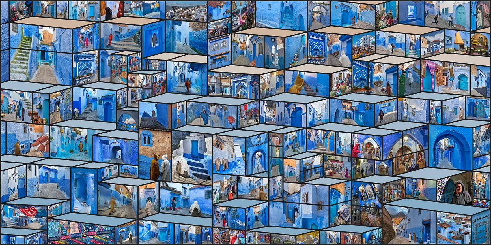 "izzet kehribar chefchaouen 1701x850 - Galeri Işık'ta İzzet Keribar ile ""Millennium"" Zamanı"