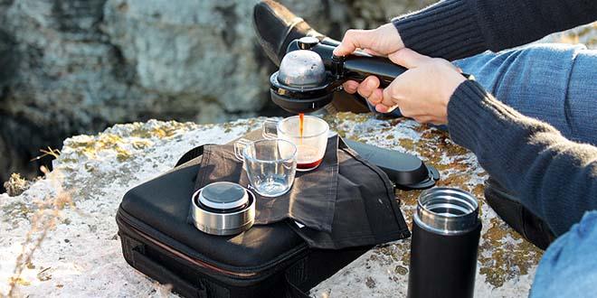 dunyanin ilk tasinabilir espresso makinesi 660x330 - Dünyanın İlk Taşınabilir Espresso Makinesi