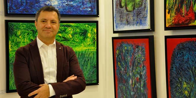 ressam akin ekicinin yansimasi izmiri buyuledi kulecanbazi com 660x330 - Ressam Akın Ekici'nin Yansıması İzmir'i Büyüledi